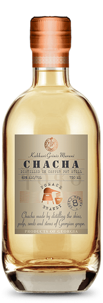 Chacha aged in Oak