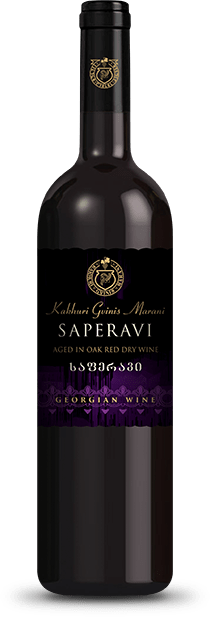 SAPERAVI Aged in oak
